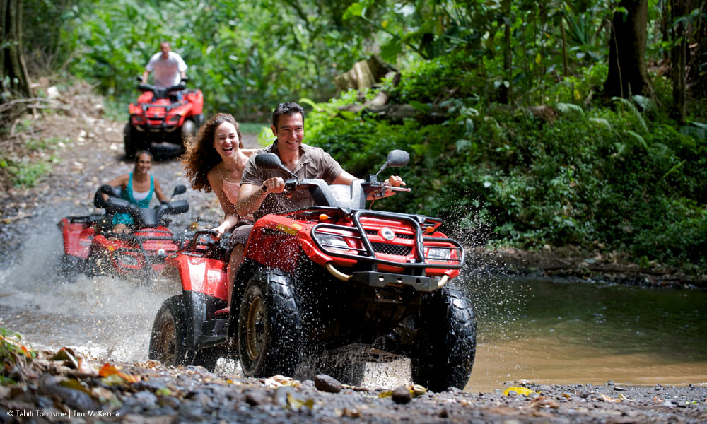Jungle ATV Four Wheeler Tour