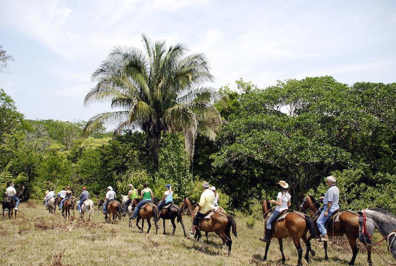 Rincon de la Vieja Organic and Cultural Tour – Water Slides – Horse Back Riding